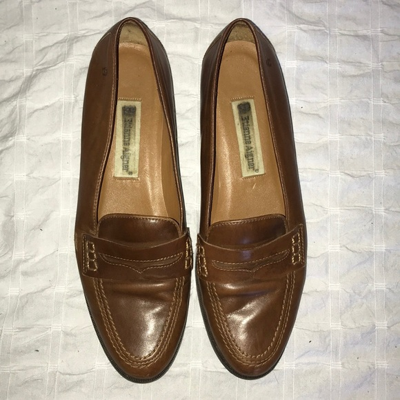 92247181a8f Etienne Aigner Shoes - Brown Leather upper Michele loafers